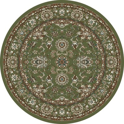 Jack Green Area Rug Rug Size: ROUND 53