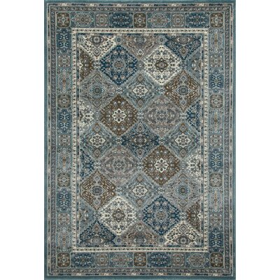 Jack Multi-Colored Area Rug Rug Size: 92 x 124