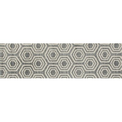 Highline Aqua Area Rug Rug Size: Runner 2 x 8