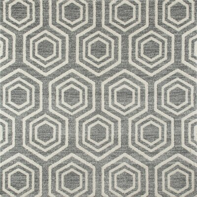 Highline Aqua Area Rug Rug Size: Square 7