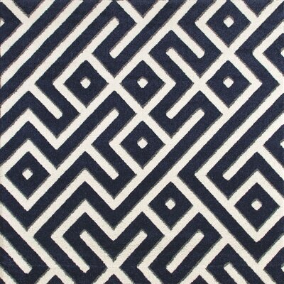 Charette Navy Blue Area Rug Rug Size: SQUARE 67
