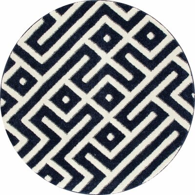 Highline Navy Blue Area Rug Rug Size: 8 x 10