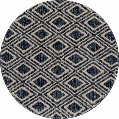 Highline Navy Blue Area Rug Rug Size: 4 x 5