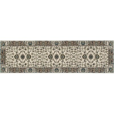 Kensington Cream Area Rug Rug Size: Runner 2 x 8