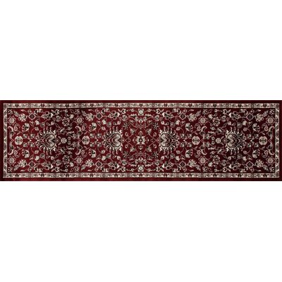 Arabella Red Area Rug Rug Size: Runner 2 x 8