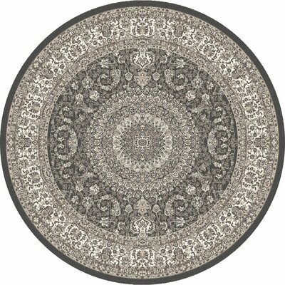 Lang Gray Area Rug Rug Size: ROUND 710