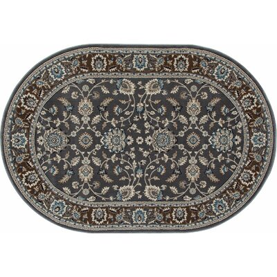 Kensington Gray Area Rug Rug Size: Runner 2 x 8