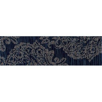 Bastille Blue Area Rug Rug Size: Runner 2' x 8'