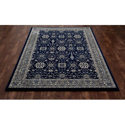 Lang Machine Woven Navy Area Rug Rug Size: 710 x 106