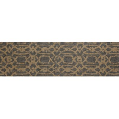 Cazares Gray/Beige Indoor/Outdoor Area Rug Rug Size: Runner 2'7