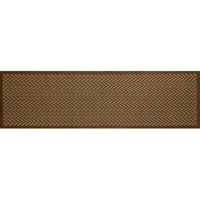 Beaminster Brown Indoor/Outdoor Area Rug Rug Size: Runner 27 x 9