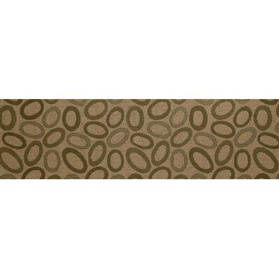 Plymouth Green/Cream Indoor/Outdoor Area Rug Rug Size: Runner 27 x 9