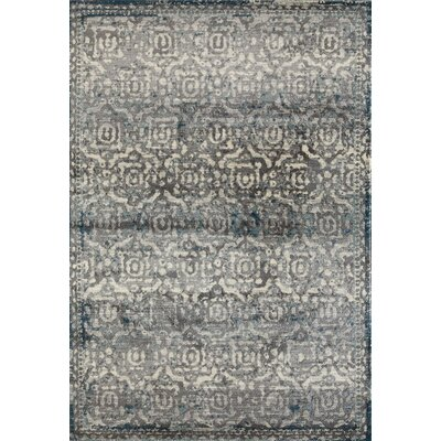 Arbor Gray/Teal Area Rug Rug Size: 710 x 10