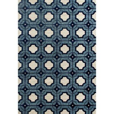 Arbor Blue Area Rug Rug Size: 311 x 57