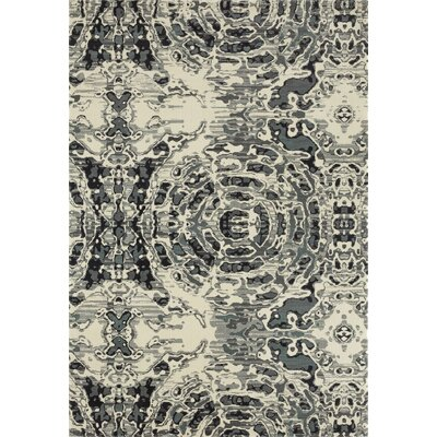 Hershberger Gray/Beige Area Rug Rug Size: 22 x 311