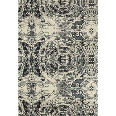 Chelsea Gray/Beige Area Rug Rug Size: 53 x 77