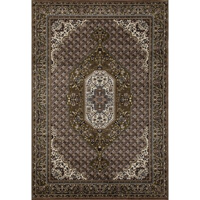 Arbor Green Area Rug Rug Size: 53 x 77