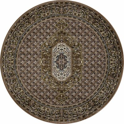 Hudson Green Area Rug Rug Size: ROUND 710