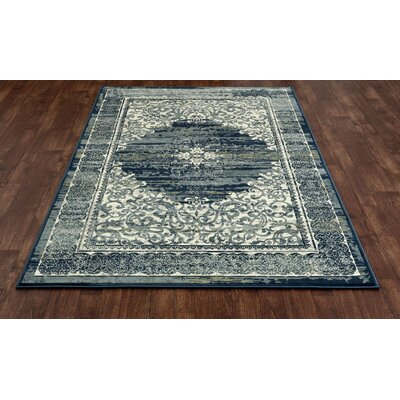 Chelsea Teal Blue Area Rug Rug Size: 910 x 131