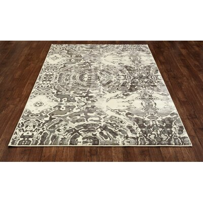 Hershberger Cream Area Rug Rug Size: 53 x 77