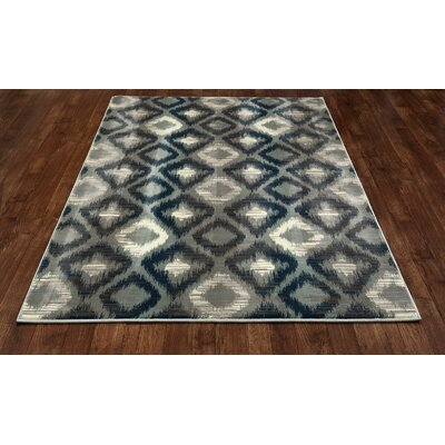 Hershberger Gray Area Rug Rug Size: 311 x 511