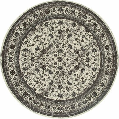 Channel Cream Area Rug Rug Size: ROUND 710