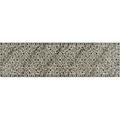 Channel Cream Area Rug Rug Size: Runner 22 x 9