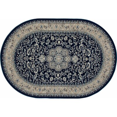 Lang Navy Area Rug Rug Size: 1011 x 15