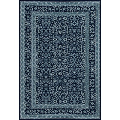 Lang Navy Area Rug Rug Size: OVAL 311 x 61