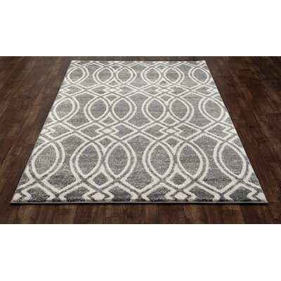 Highline Gray Area Rug Rug Size: 7 x 9
