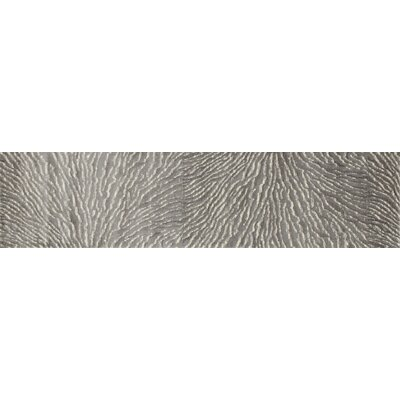 Cearley Gray Area Rug Rug Size: Runner 22 x 82