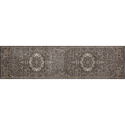 Landy Gray Area Rug Rug Size: Runner 22 x 82