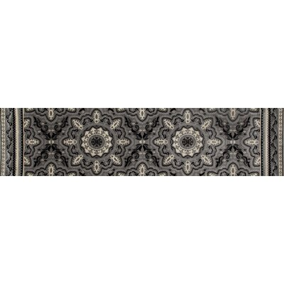 Highland Gray Area Rug Rug Size: Runner 22 x 82