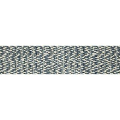 Burgoyne Blue Area Rug Rug Size: Runner 22 x 82