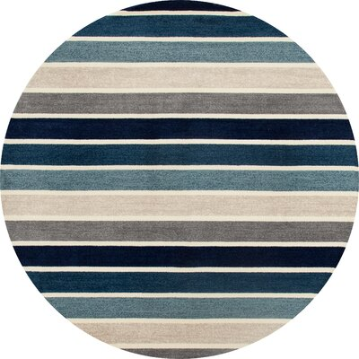 Vasques Area Rug Rug Size: ROUND 53