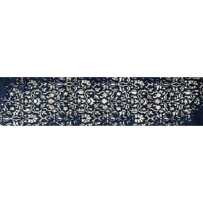 Highland Peacock Blue Area Rug Rug Size: Runner 22 x 82