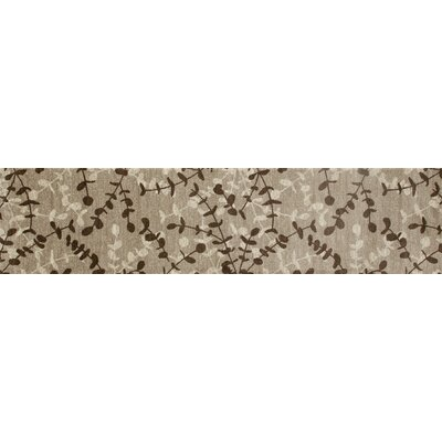 Vasques Beige Area Rug Rug Size: Runner 2'2