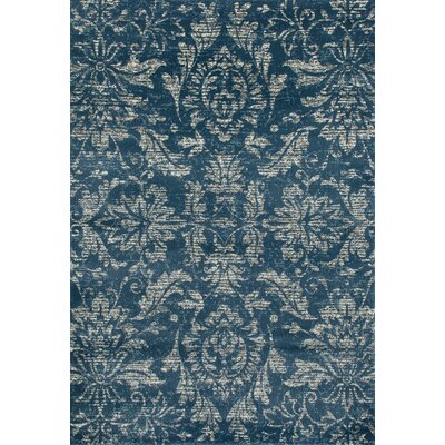 Arabella Blue Area Rug Rug Size: 4 x 6