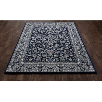 Lang Navy Area Rug Rug Size: 710 x 106