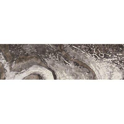 Titanium Gray Area Rug Rug Size: Runner 2'7