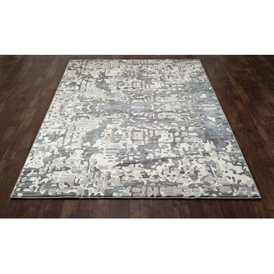 Mcconnell Cream/Blue Area Rug Rug Size: 311 x 61