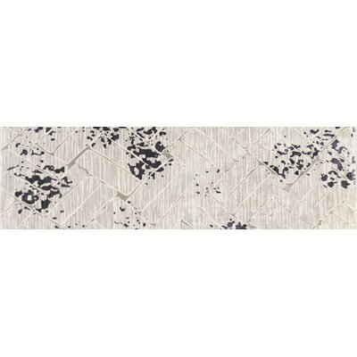 Mcconnell Dark Gray Area Rug Rug Size: Runner 27 x 94