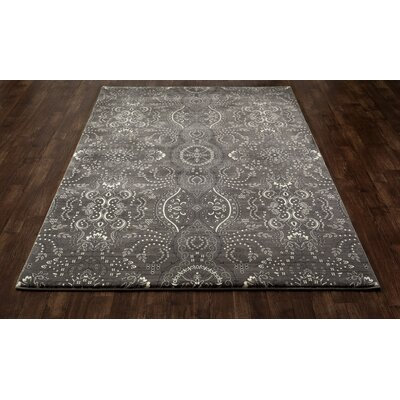 Castellano Black Area Rug Rug Size: Runner 27 x 131