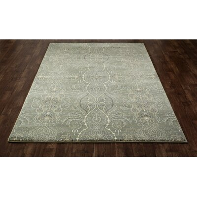 Castellano Light Green Area Rug Rug Size: 92 x 132