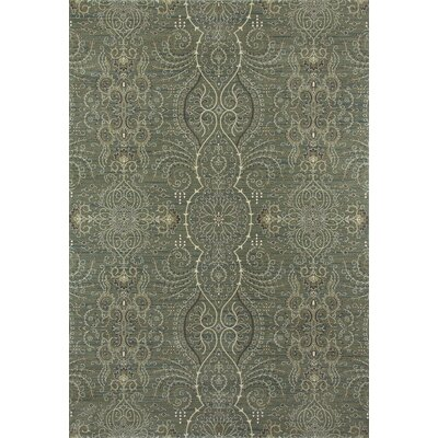 Castellano Light Green Area Rug Rug Size: OVAL 67 x 910