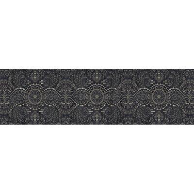 Castellano Gray Area Rug Rug Size: Runner 22 x 77