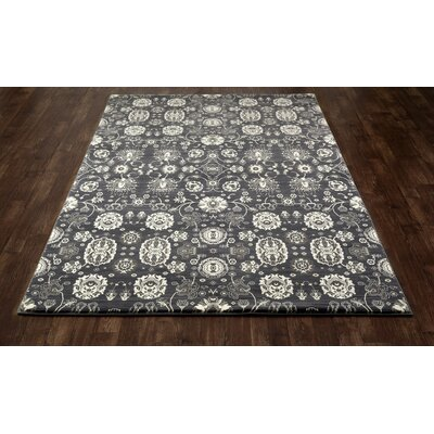 Castellano Dark Gray Area Rug Rug Size: 1011 x 151