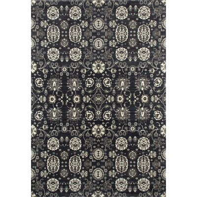 Castellano Dark Gray Area Rug Rug Size: 92 x 132