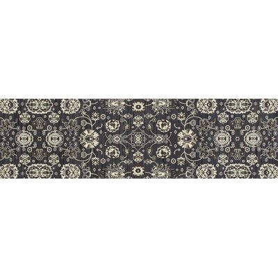 Castellano Dark Gray Area Rug Rug Size: Runner 27 x 131