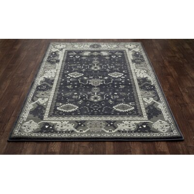 Castellano Gray/Blue Area Rug Rug Size: Runner 27 x 131